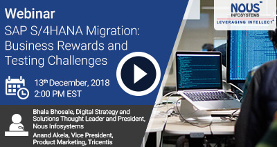 SAP S/4HANA Migration: Business Rewards and Testing Challenges Video Icon