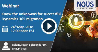 Know the unknowns for successful Dynamics 365 migration Video Icon