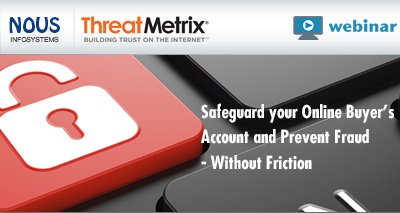 Safeguard your Online Buyer's Account and Prevent Fraud - Without Friction Video Icon