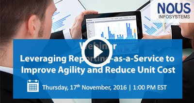 Leveraging Reporting As A Service to improve Agility and Reduce Unit Cost Video Icon